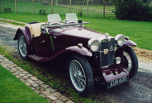 A pre-war MG of the type we deal in